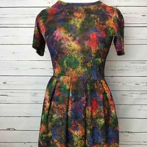 LulaRoe Amelia dress 🌈